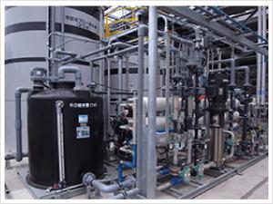 冷却塔ブロー水回収事例