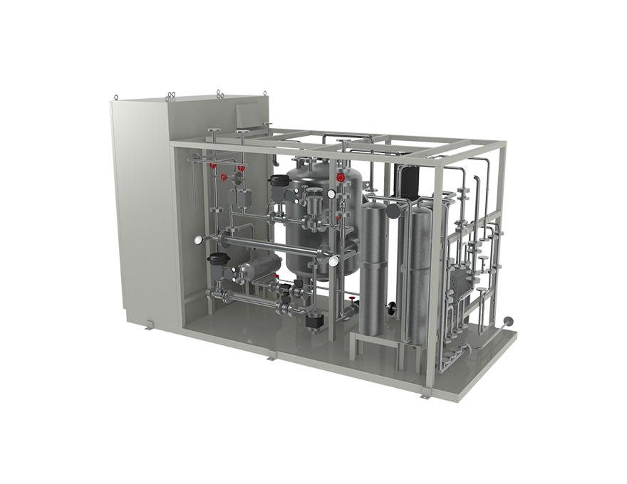 耐熱精製水製造装置PW-P-A型、PW-P-U型の外観イメージ