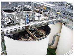 排水処理薬品の削減事例