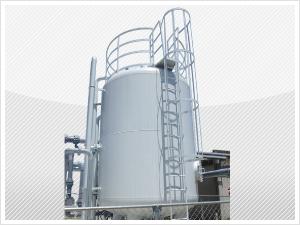 排水処理の能力増強事例