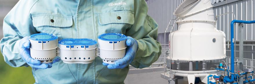小型冷却塔のレジオネラ属菌対策にはカプセルゼロが最適です