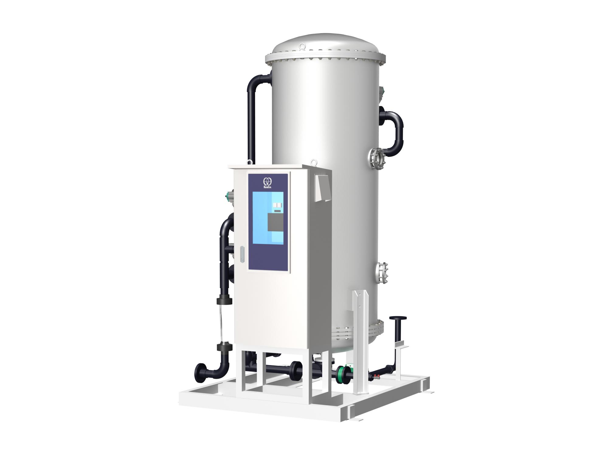 混床式自動純水装置SJ-A-E型の外観イメージ