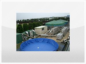 非定常アンモニア排水処理技術LOPAS法