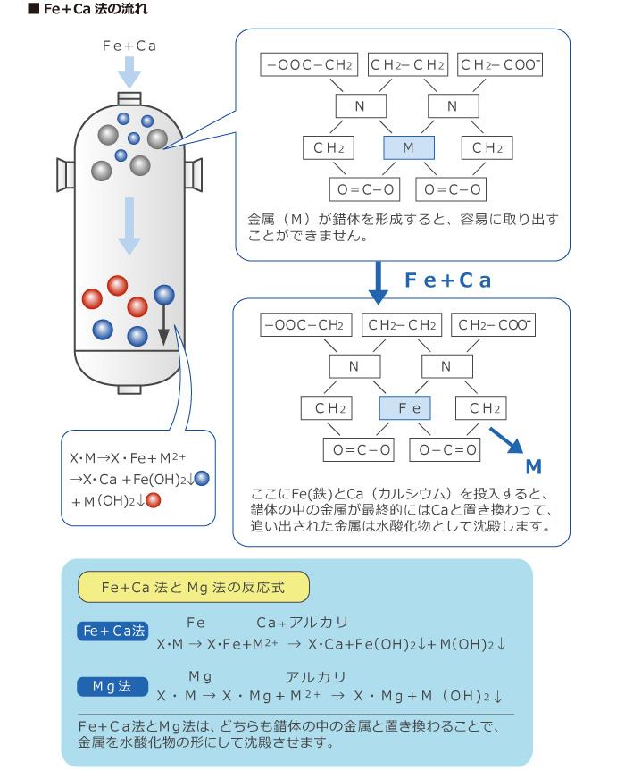 Fe+Ca法の流れ
